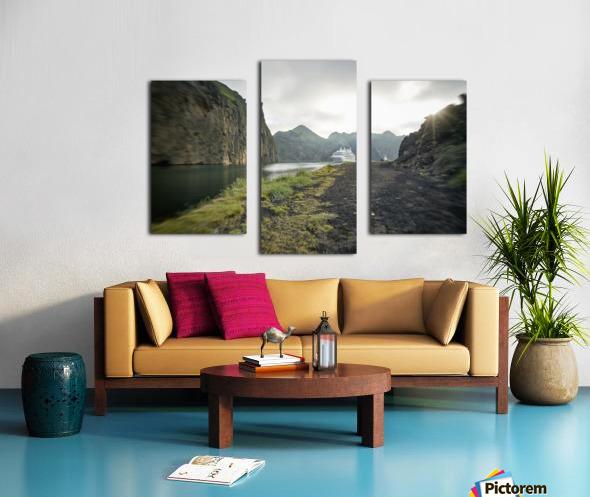 Heimaey Island Canvas print