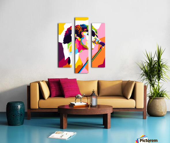 Liam Gallagher Canvas print