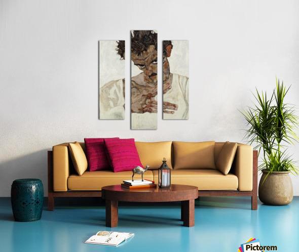 Egon Schiele - Self-Portrait Canvas print