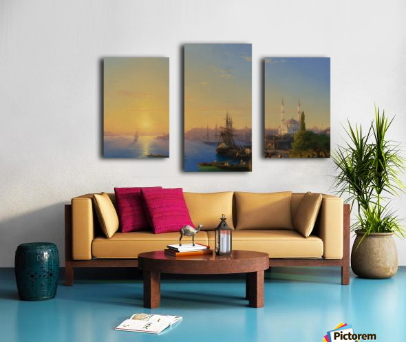 View of Constantinople Canvas print