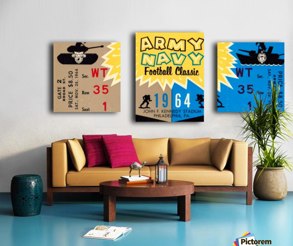 1964 Army vs. Navy Canvas print