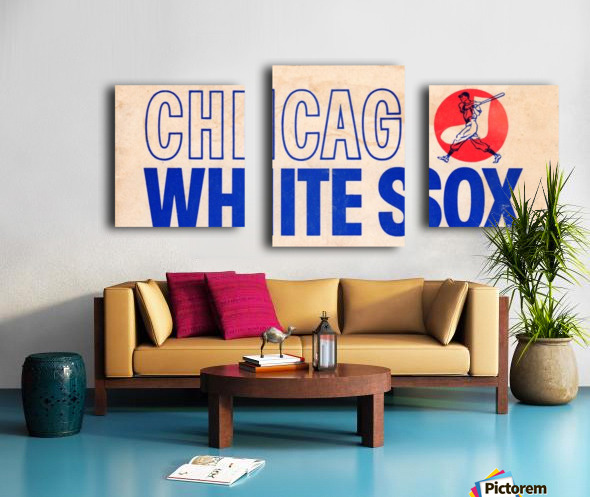 1962 Chicago White Sox Art Canvas print