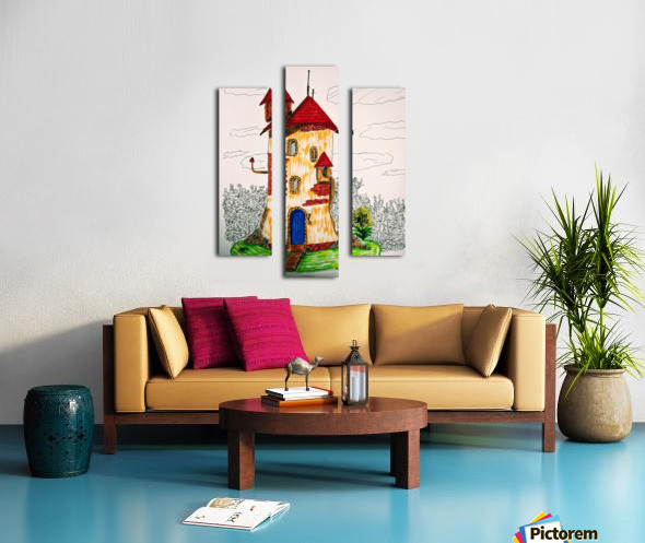 Wizard Tower Canvas print