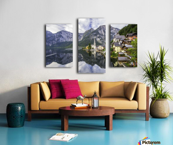 Hallstatt Sunrise Canvas print