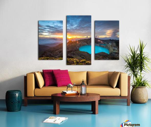 Indonesian Volcano Canvas print