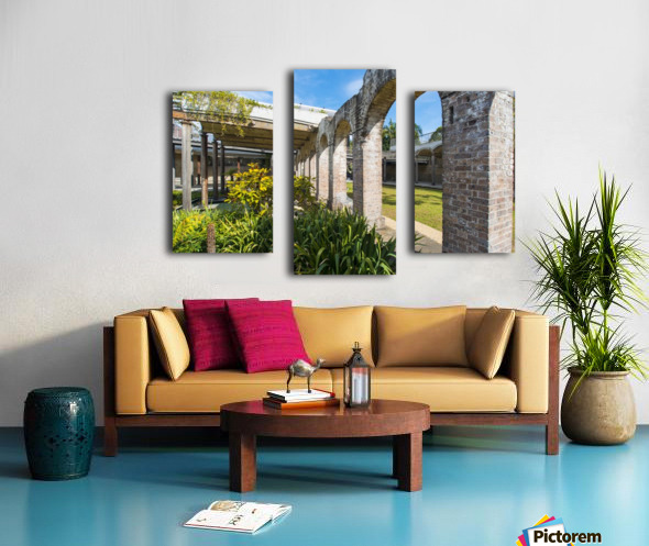 Paddington Reservoir gardens Canvas print