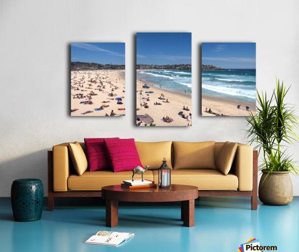 Bondi Beach Panoramic Canvas print