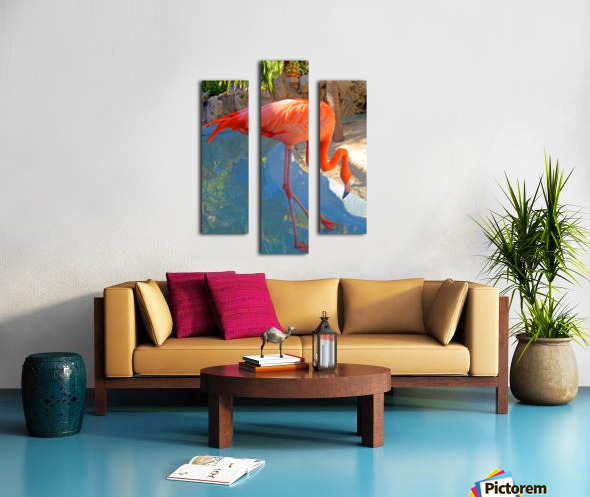 Living in Paradise Canvas print
