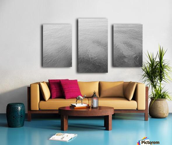 Open Waters B&W Canvas print