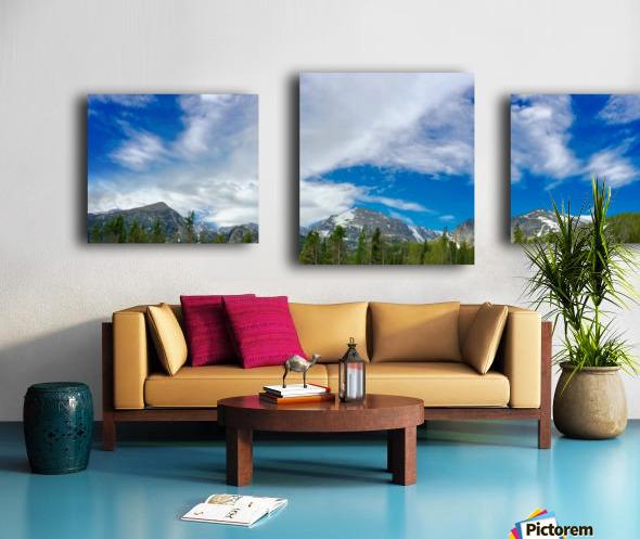 Rocky Mountain Range Canvas print