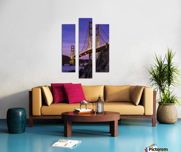 Golden Gate Blue Hour Canvas print