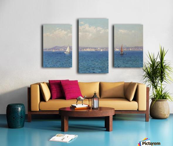 Franzasische Riviera Canvas print