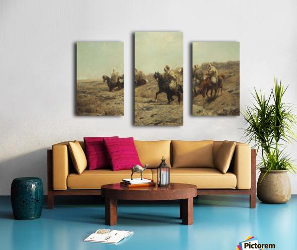 Arabische Krieger Canvas print