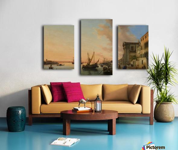 Venice Bay Canvas print