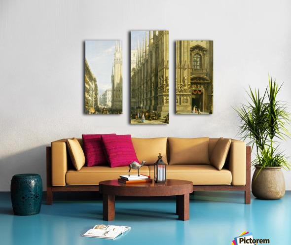 Il Duomo di Milano Canvas print