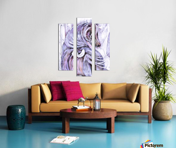 Emotion 2 Canvas print