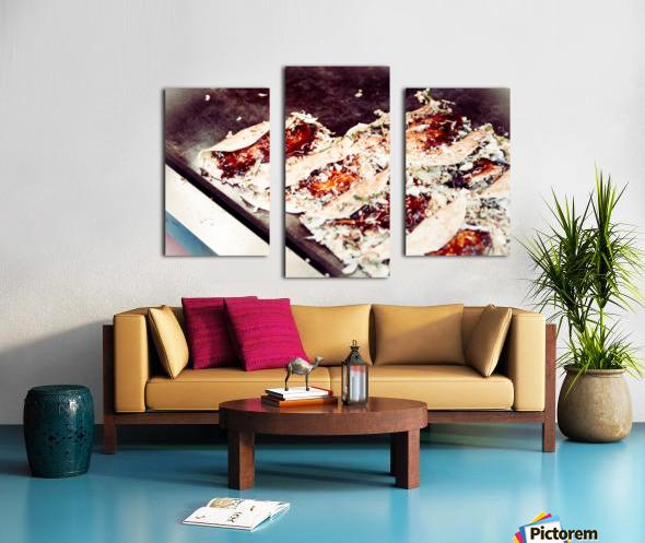 Street Okonomiyaki Canvas print