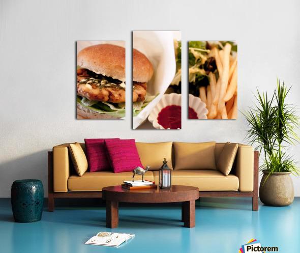 Its Vegan Canvas print