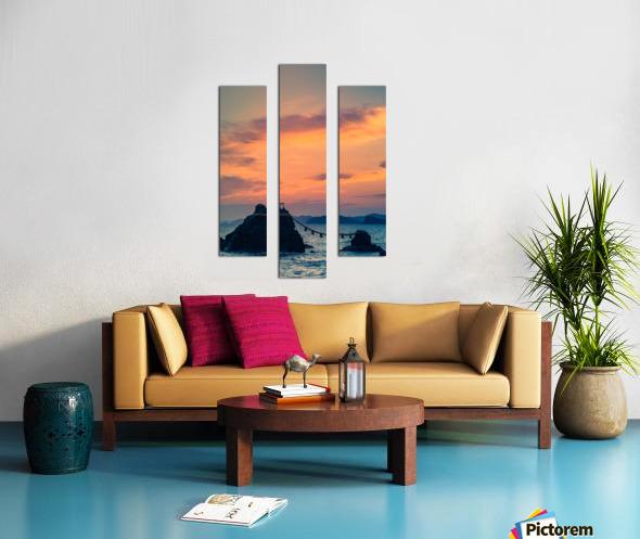 Meotoiwa Canvas print