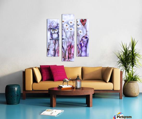 Marguerites Canvas print