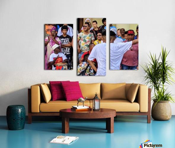 Rumbero Dancer Canvas print