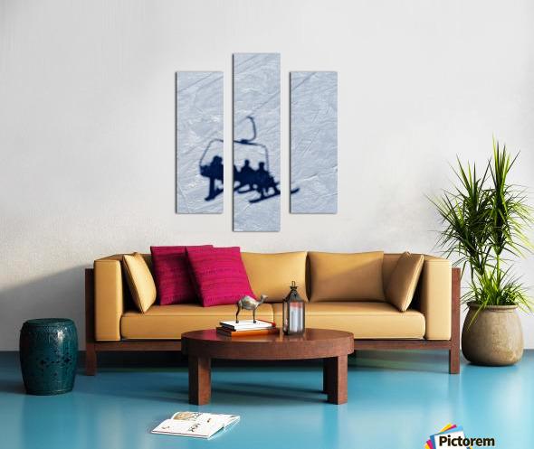 Lift chair Canvas print