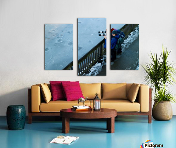 Photographers Canvas print