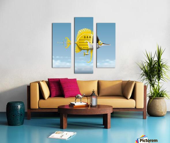 Residenza Pescellino Royale Canvas print