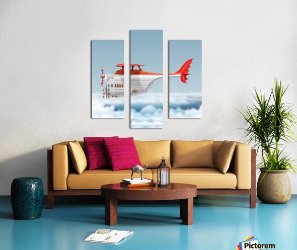Avione Martellino Canvas print