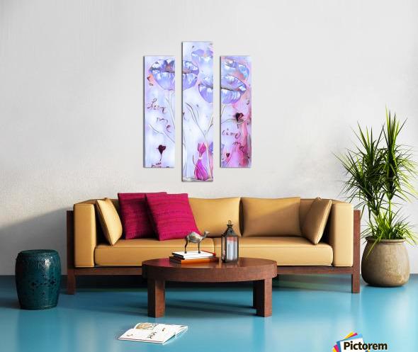 Aime moi no2 Canvas print