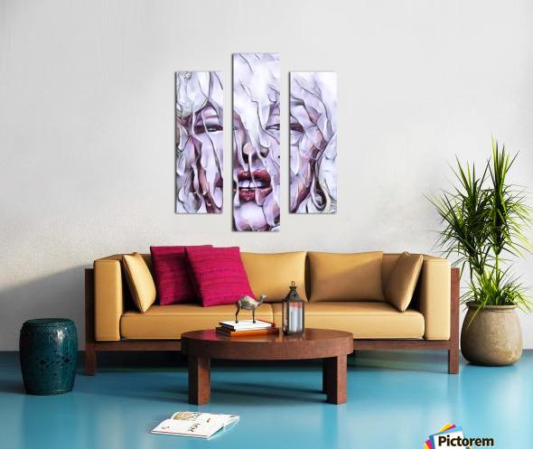 Derriere la fenetre Canvas print