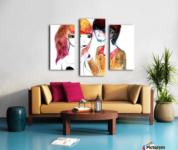 interchangingversionthree Canvas print