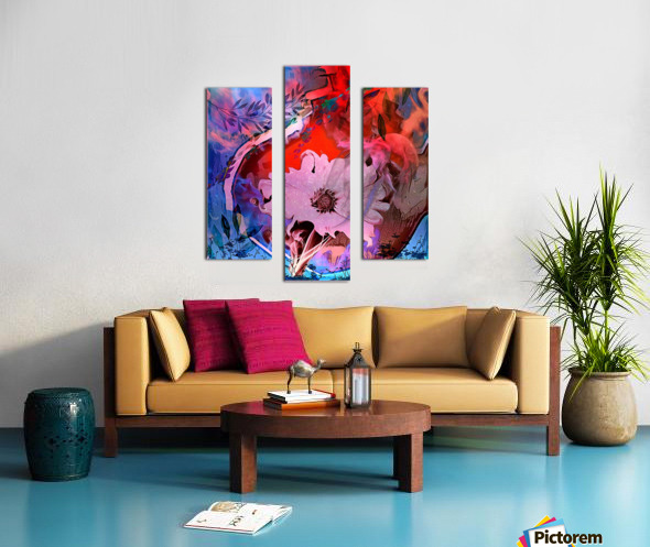 She Flora of the Festival  Canvas print