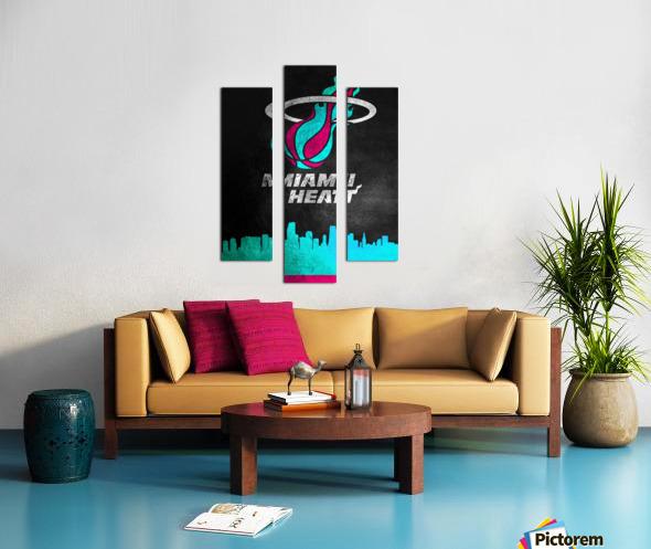 Miami Heat Vice Canvas print