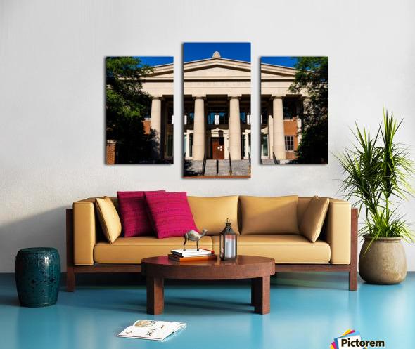 The News Building   Athens GA 07343 Canvas print