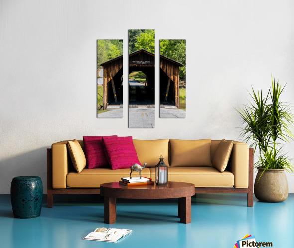 Watson Mill Bridge State Park   Comer GA 06571 Canvas print