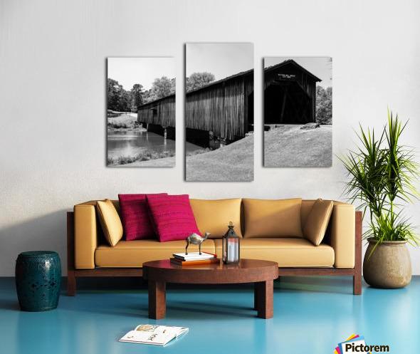 Watson Mill Bridge State Park   Comer GA 06587 Canvas print