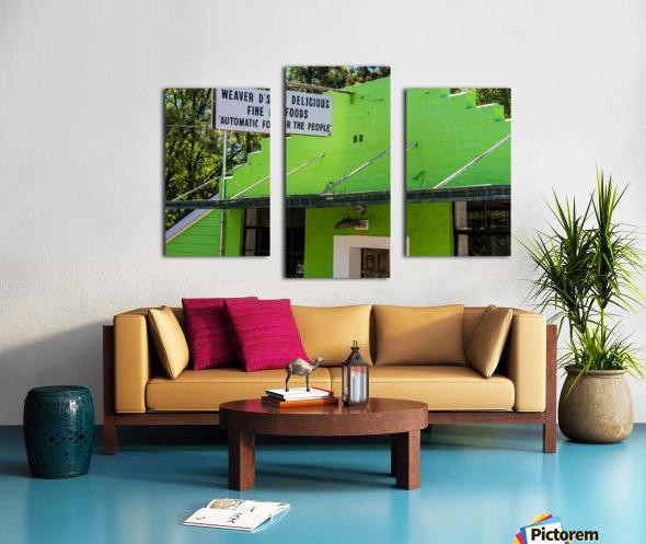 Weaver Ds   Athens GA 06477 Canvas print