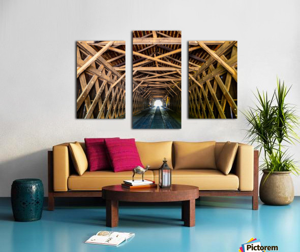 Watson Mill Bridge State Park   Comer GA 06956 Canvas print