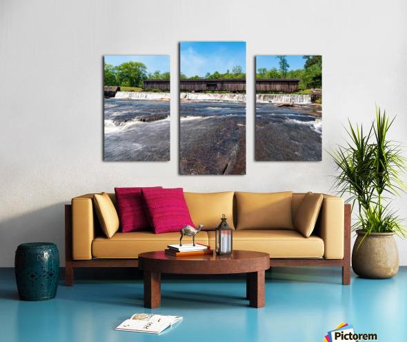 Watson Mill Bridge State Park   Comer GA 06860 Canvas print