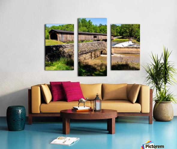 Watson Mill Bridge State Park   Comer GA 06576 Canvas print