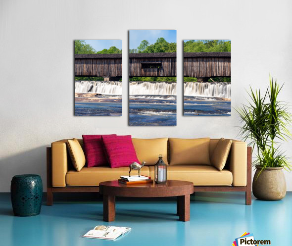 Watson Mill Bridge State Park   Comer GA 06715 Canvas print