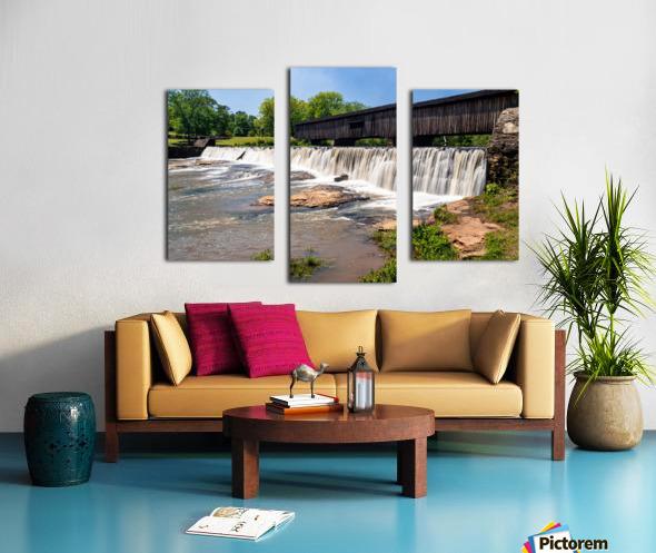 Watson Mill Bridge State Park   Comer GA 06914 Canvas print