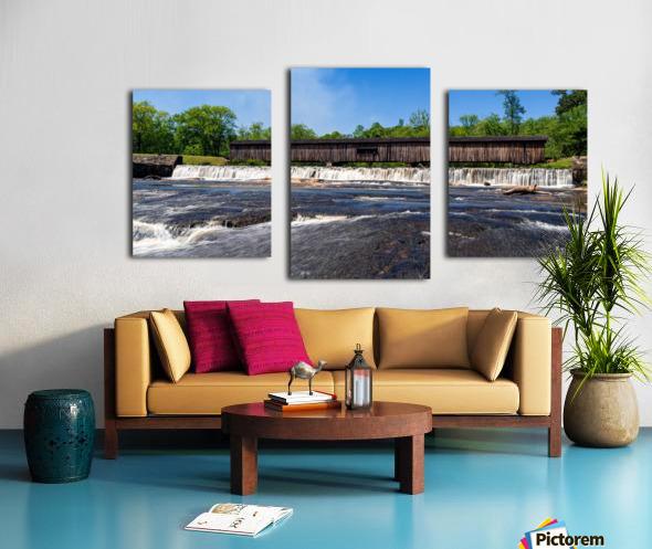Watson Mill Bridge State Park   Comer GA 06668 Canvas print