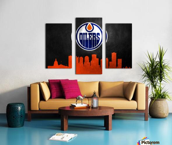 Edmonton Oilers Canvas print