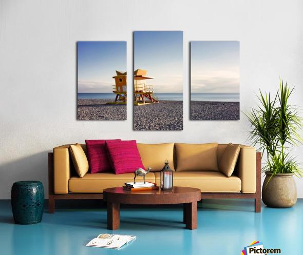 Miami Beach 058 Canvas print