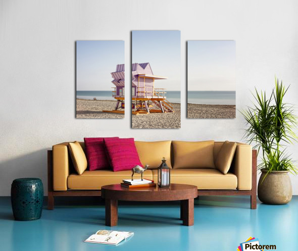 Miami Beach 054 Canvas print