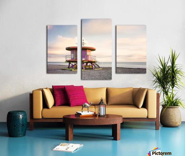 Miami Beach 028 Canvas print