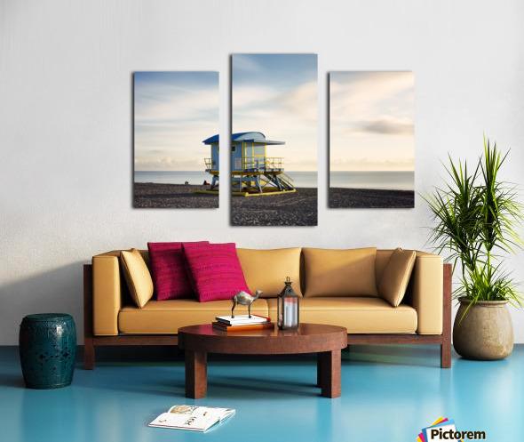 Miami Beach 030 Canvas print