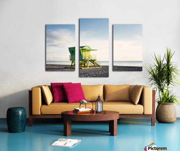Miami Beach 048 Canvas print